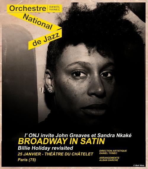 Sandra Nkake et ONJ Mar 25 janv - Paris